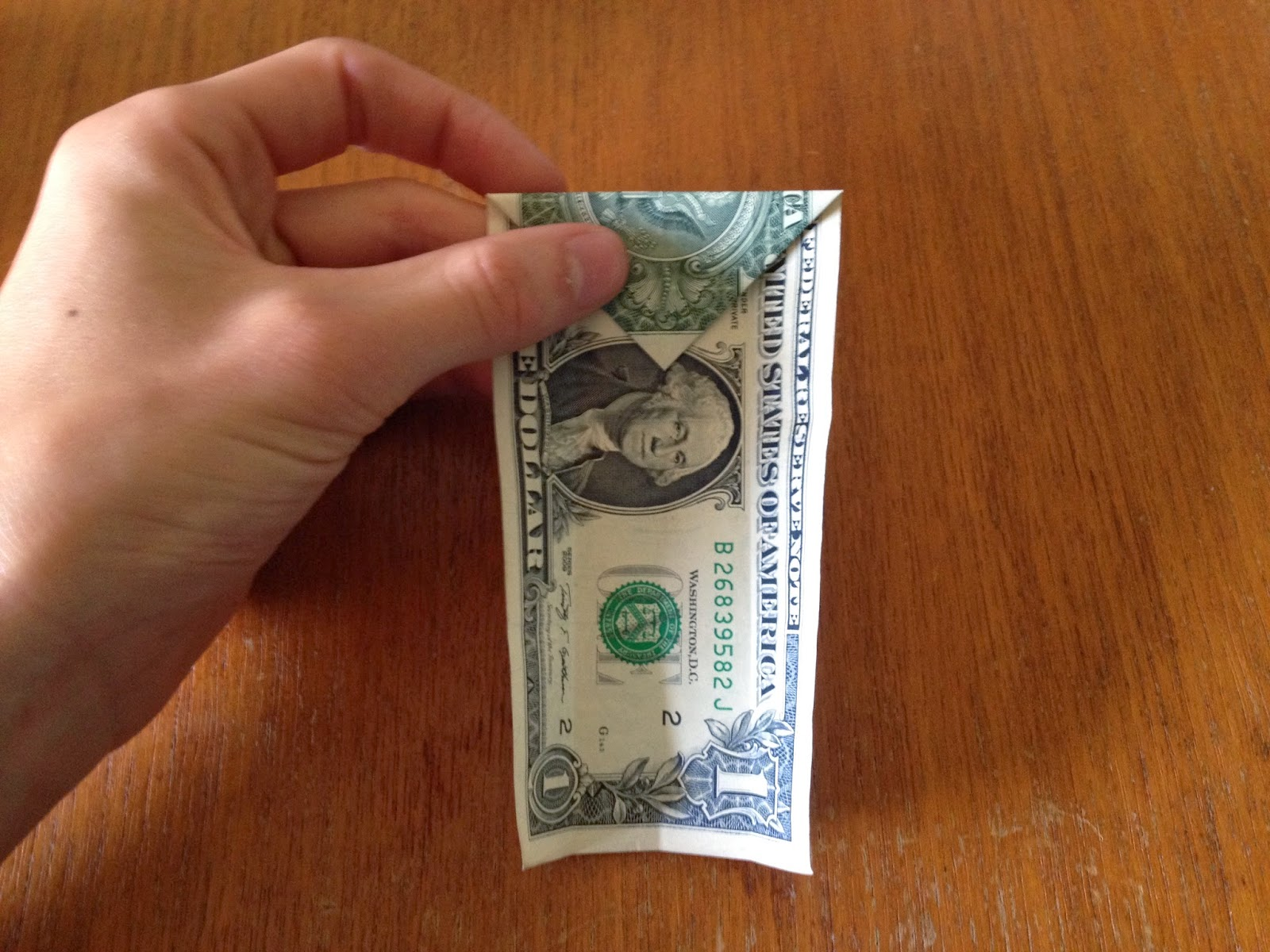 Dollar Bill Origami: Shirt and Tie | The Best Hobbies Blog - photo#42