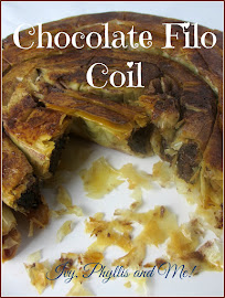 CHOCOLATE FILO COIL