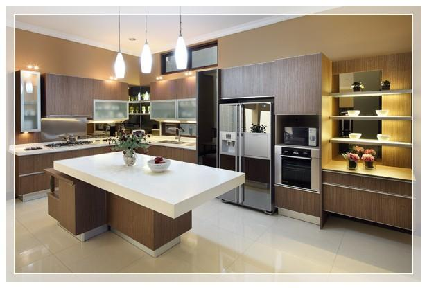 Desain dapur dan kitchen set pt architectaria media cipta for Harga kitchen set murah