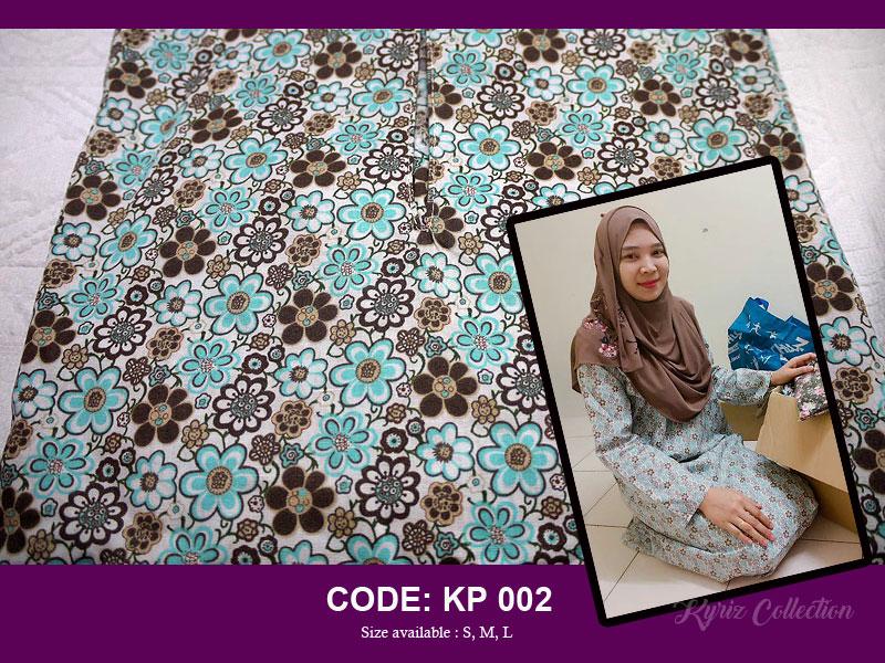 Baju kurung pesak (baju kurung pahang) english cotton