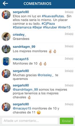 Instagram, Comentarios, Eliminar