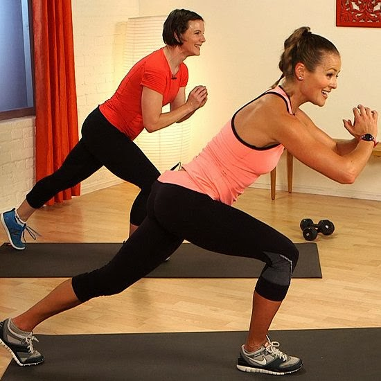 http://www.fitsugar.com/10-Minute-Cardio-Legs-Butt-Workout-Video-30228753