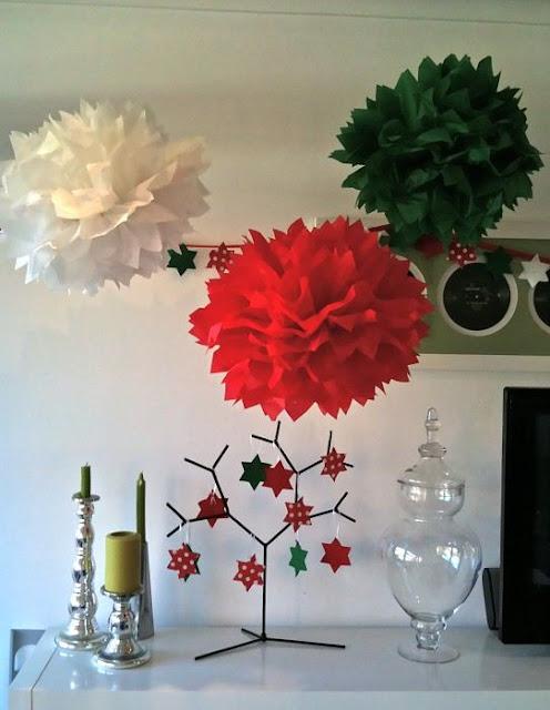 Navidad en el palomar navidad en papel de seda - Decoracion navidad papel ...