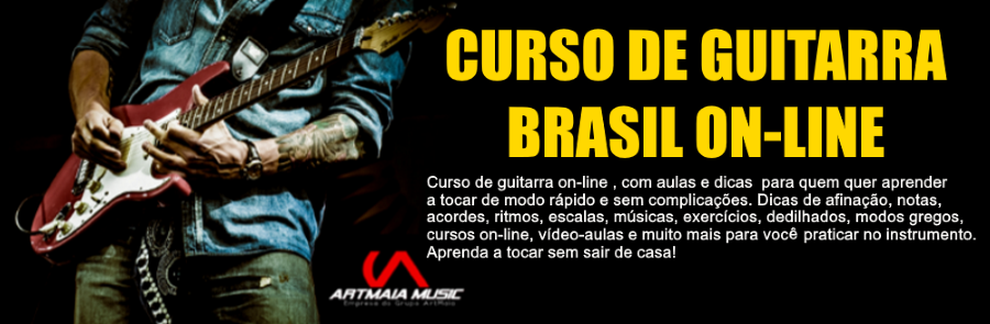 CURSO DE GUITARRA BRASIL ON-LINE