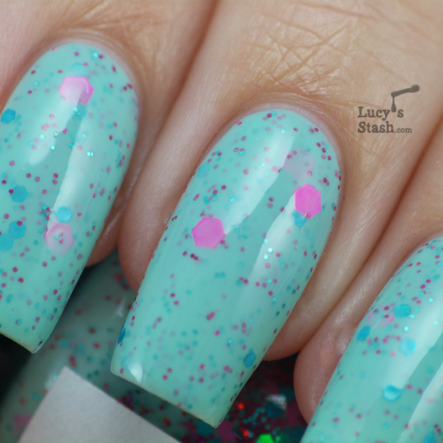 Lucy's Stash - Pea Soup nail polish