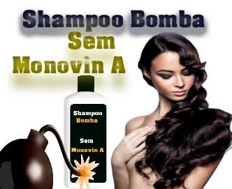shampoo bomba sem monovin A