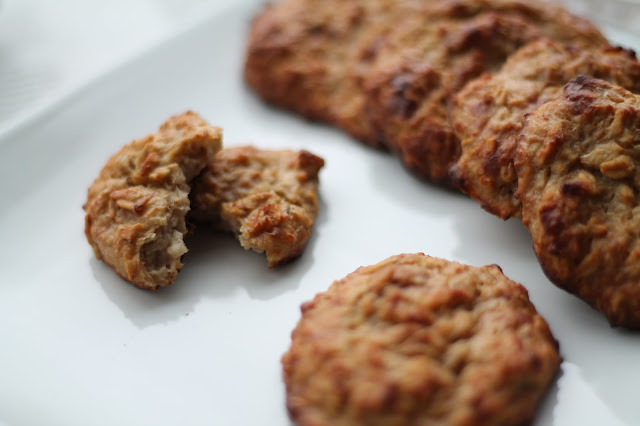 Recipe Healthy Cookies / Bananen Oatmeal Cookies / #svetlanakocht /