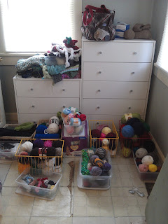 Niccupp Crochet: Yarn Organization In Process