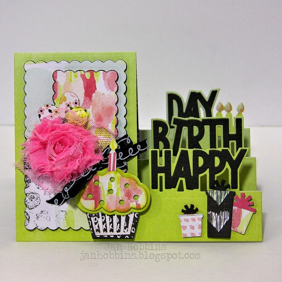 HAPPY BIRTHDAY CARD TUTORIAL