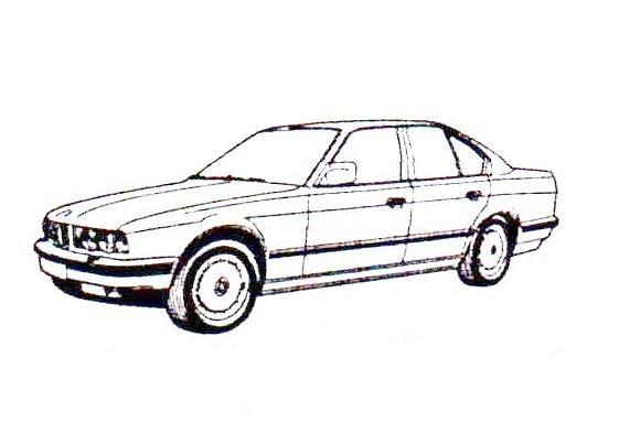 jescarclassic  bmw e34 1988