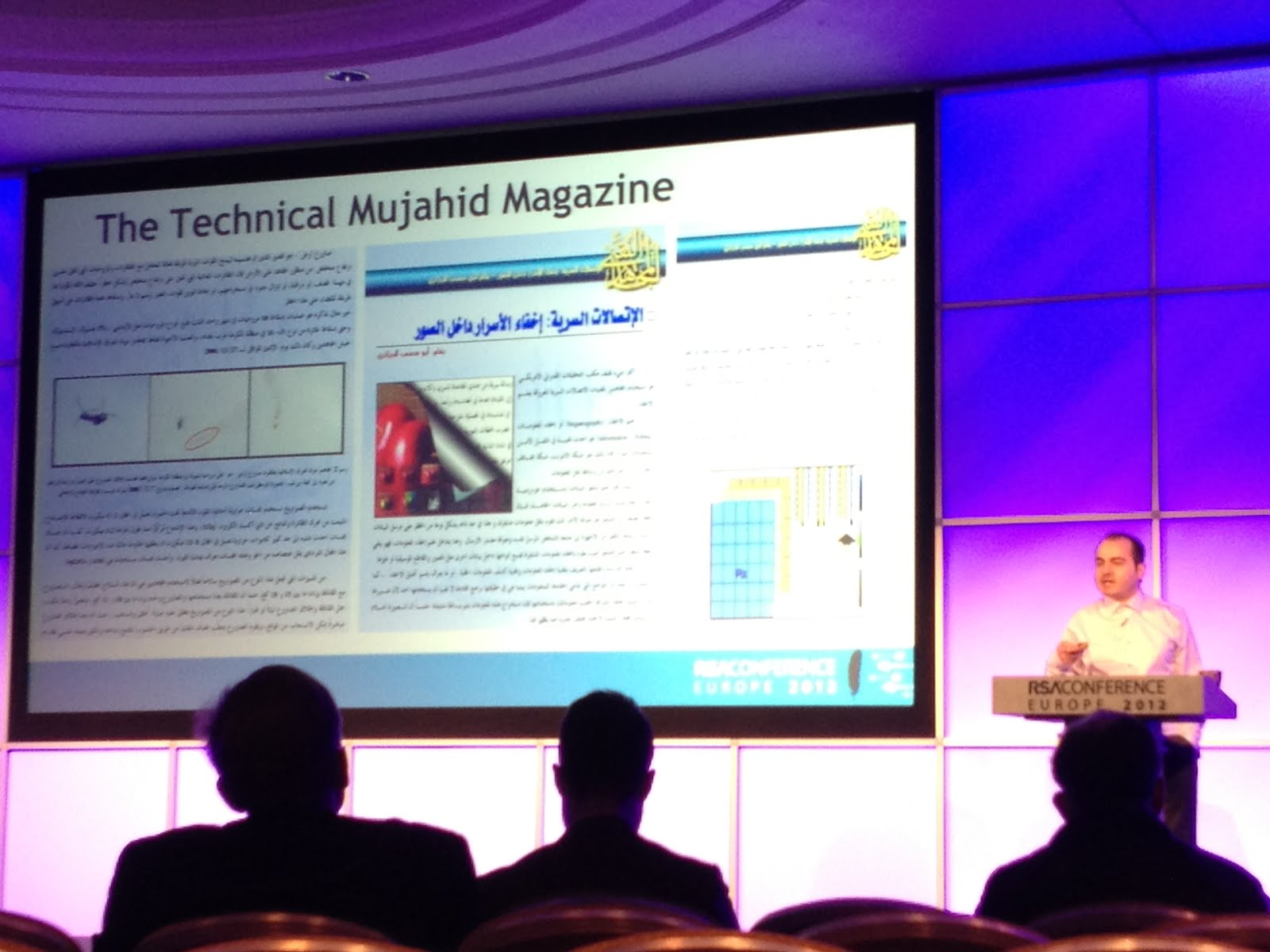 RSA Europe 2012 Presentation