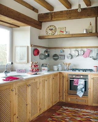 Estilo rustico casa rustica en el norte de espana - Como disenar una cocina rustica ...