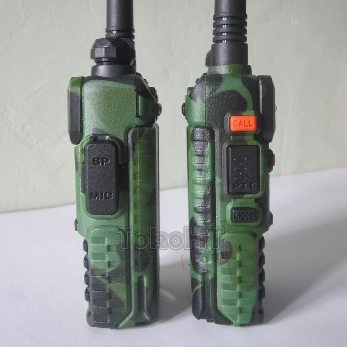 HT Zastone ZT-V8A+ Dual Band VHF UHF FM Radio Loreng
