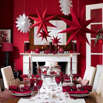 Christmas Decoration Ideas Christmas Table Decorations #1: 6y7712 Christmas Decoration Ideas