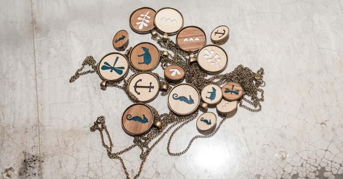 Fräulein Tapir Halskette