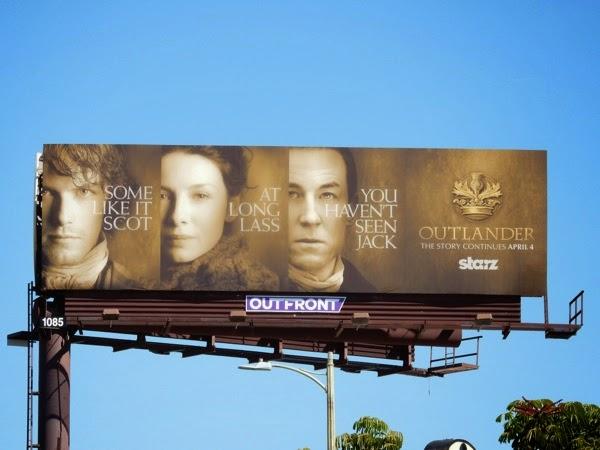 Outlander midseason 1 teaser billboard