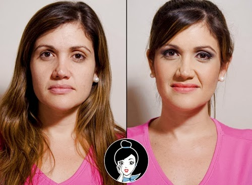 maquillaje pin up antes y despues