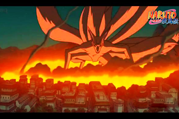 Kurenai Shippuden Kyuubi 9 Tails Naruto ...