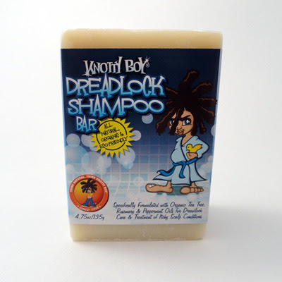 Knotty Boy: Dreadlock Shampoo Bar