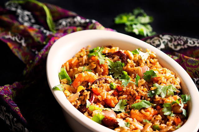 chorizo fried rice recipe