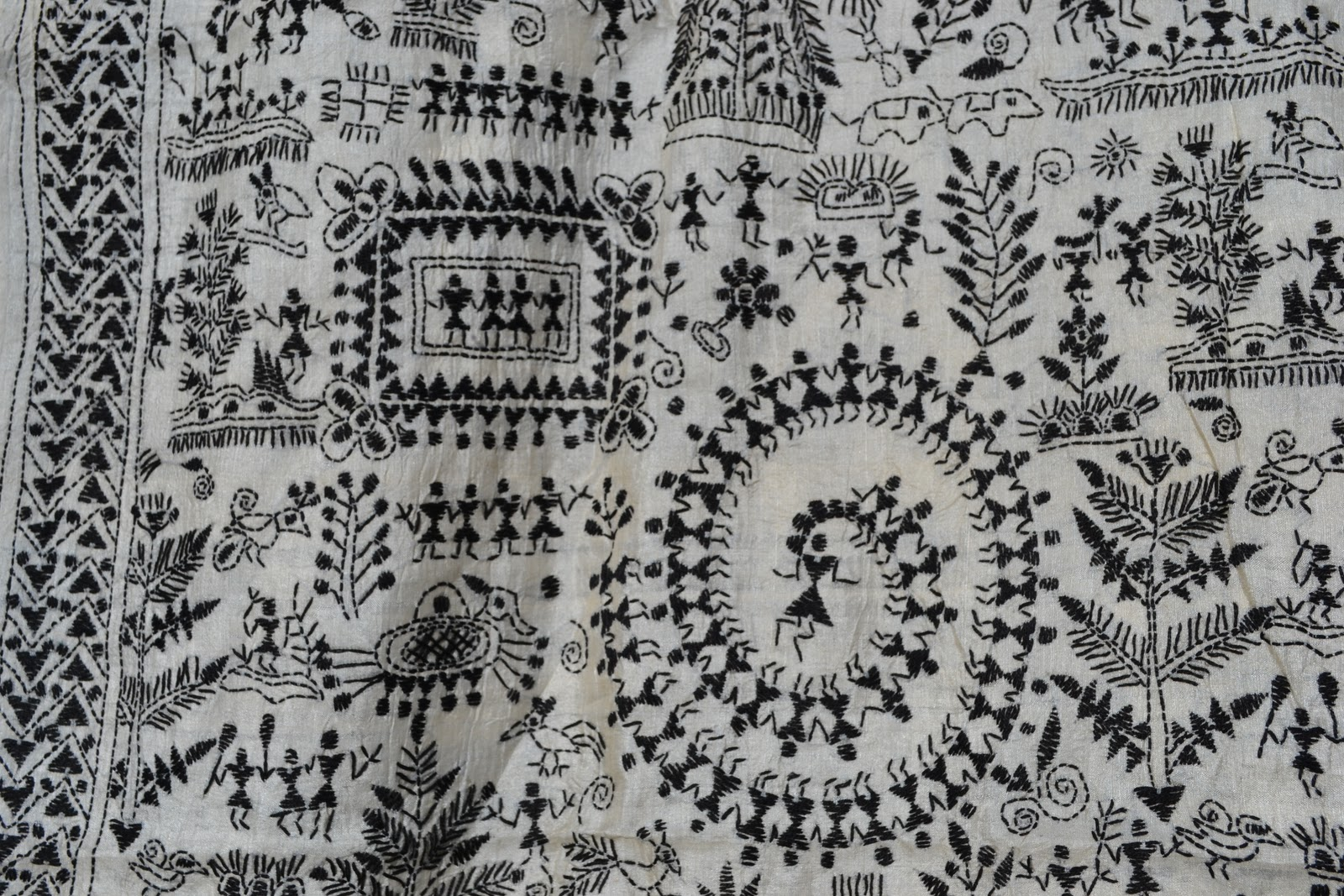 Kantha Work Embroidery Patterns
