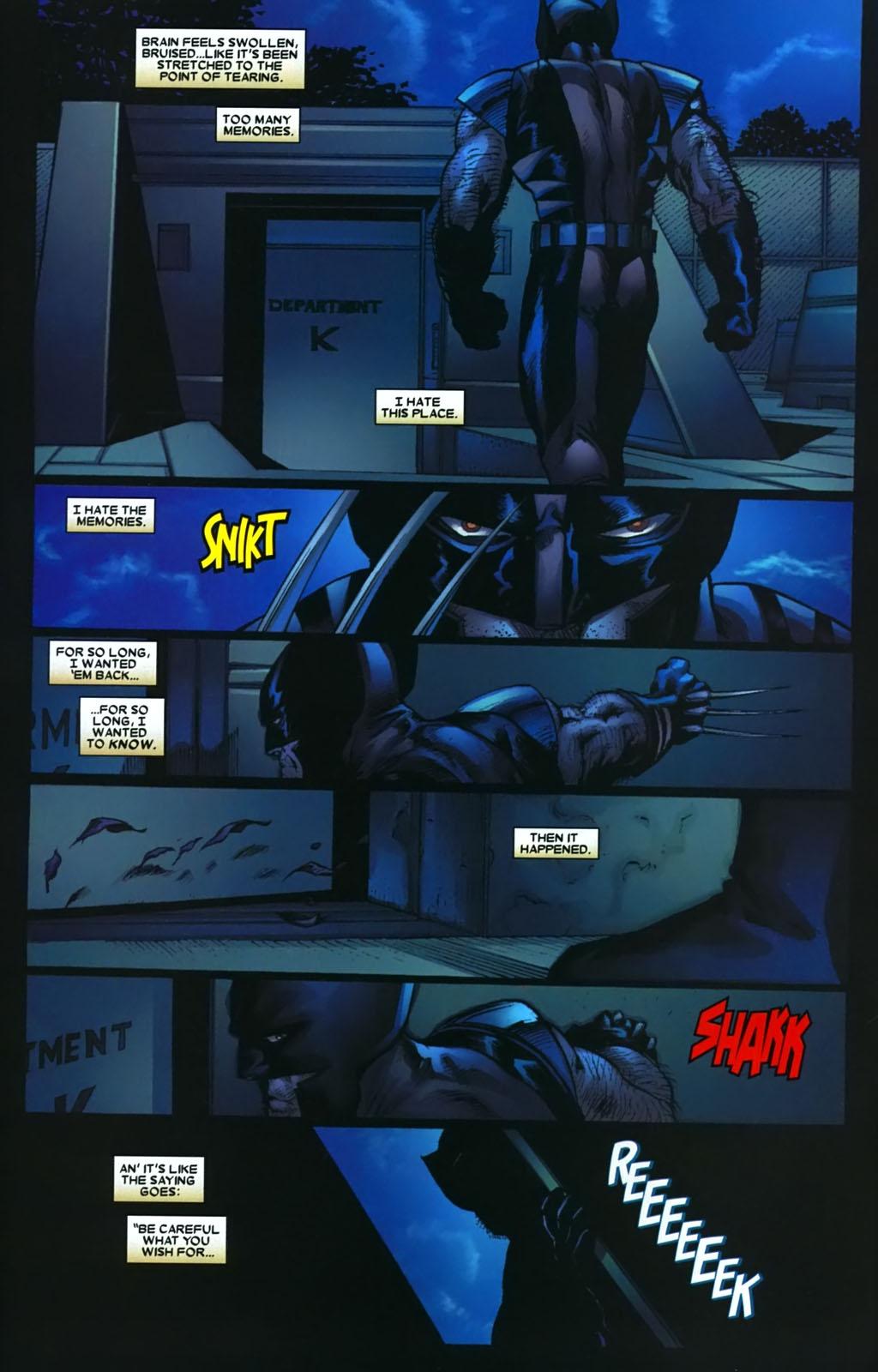 Read online Wolverine (2003) comic -  Issue #38 - 3