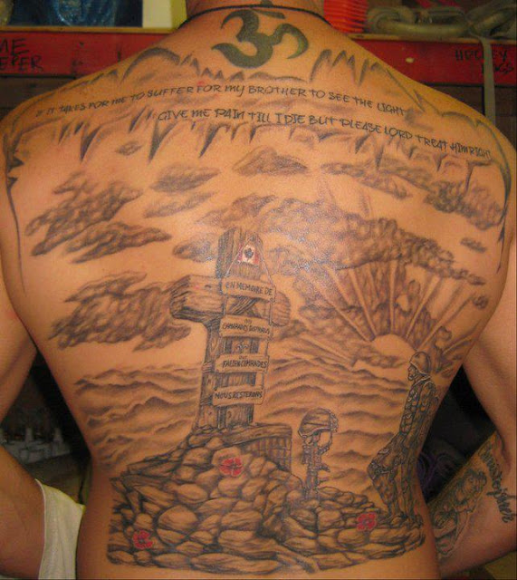 Thankasoldier A Tribute Tattoo For Fallen Heroes