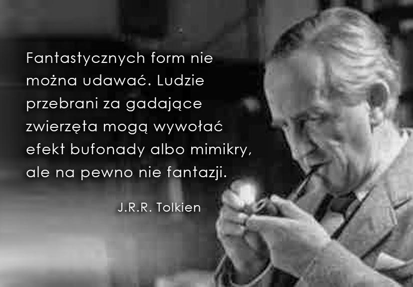 J.R.R. Tolkien, baśnie i Tolkien, hobbit i baśnie, Fantazja, fantazjowanie, Baśnie na warsztacie, mimesis