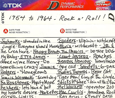 1954 to 1964 - Rock N' Roll! Mix Tape