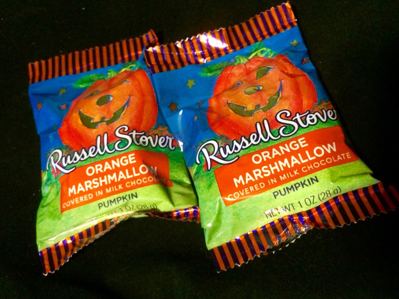 obsessive sweets: halloween treats: russell stover orange