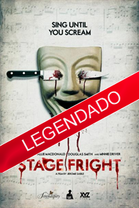 Poster Stage Fright legendado