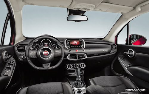 Fiat 500X Cross Dashboard