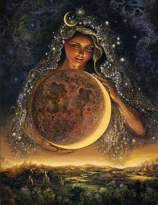 Mãe Lua, ouço seu chamado!