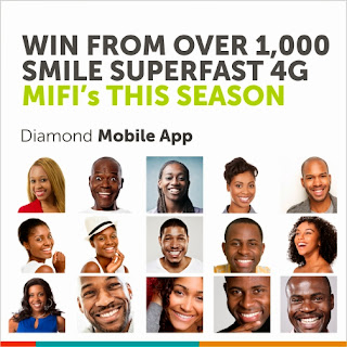 Get Smile superfast 4G LTE MiFi for free.