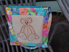 Teddybear Library bag