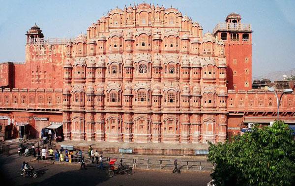 Jaipur, India - rosa