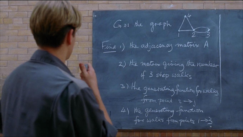 Good Will Hunting Math