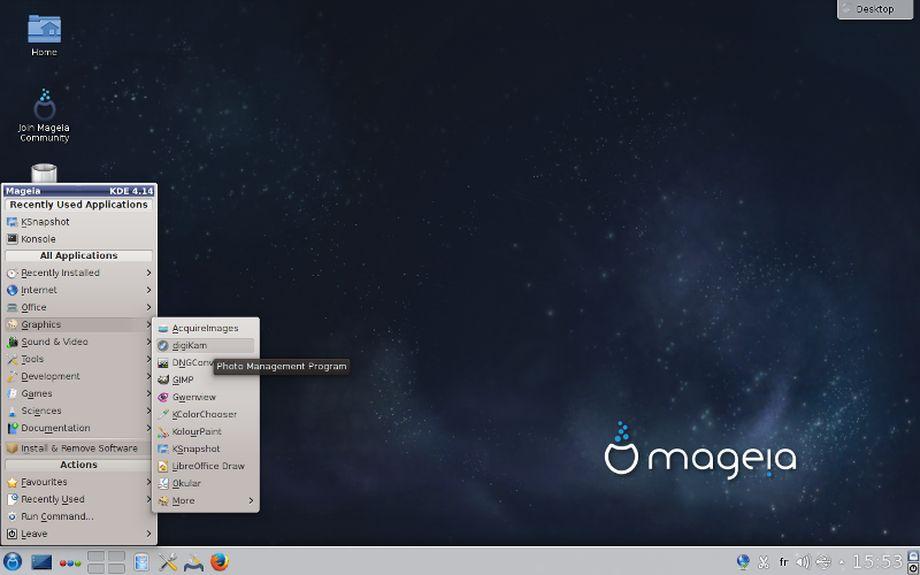 Mageia 5 KDE