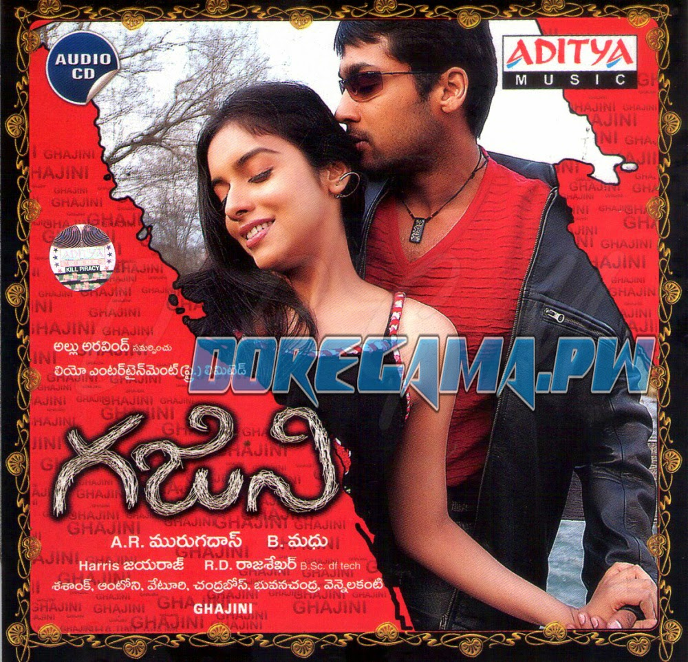 ghajini songs 2005 telugu mp3 songs free download