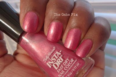 Manicure Monday – Pumped Up Pink