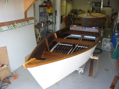 After - 1955 Chesapeake Skiff 13', complete restoration