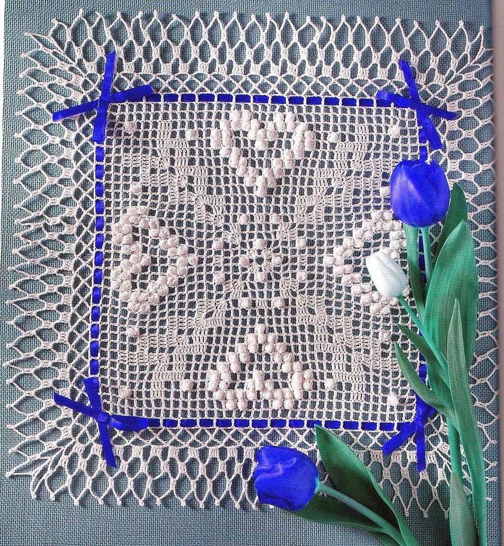 Uncinetto e crochet centro tavola all 39 uncinetto con - Centro tavolo all uncinetto ...
