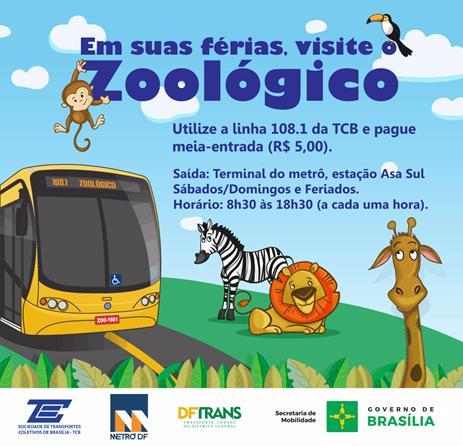 FÉRIAS NO ZOOLÓGICO