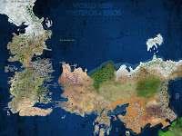 Detailed Map Game Of Thrones