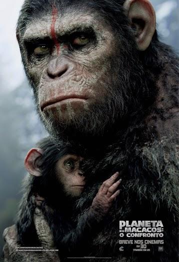 Planeta+dos+Macacos+ +O+Confronto Poster Bebe 64x94 Planeta dos Macacos: O Confronto Torrent   Dublado