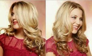 model rambut keriting gantung terbaru