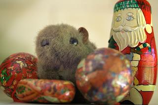 Shane Wombat with Santa