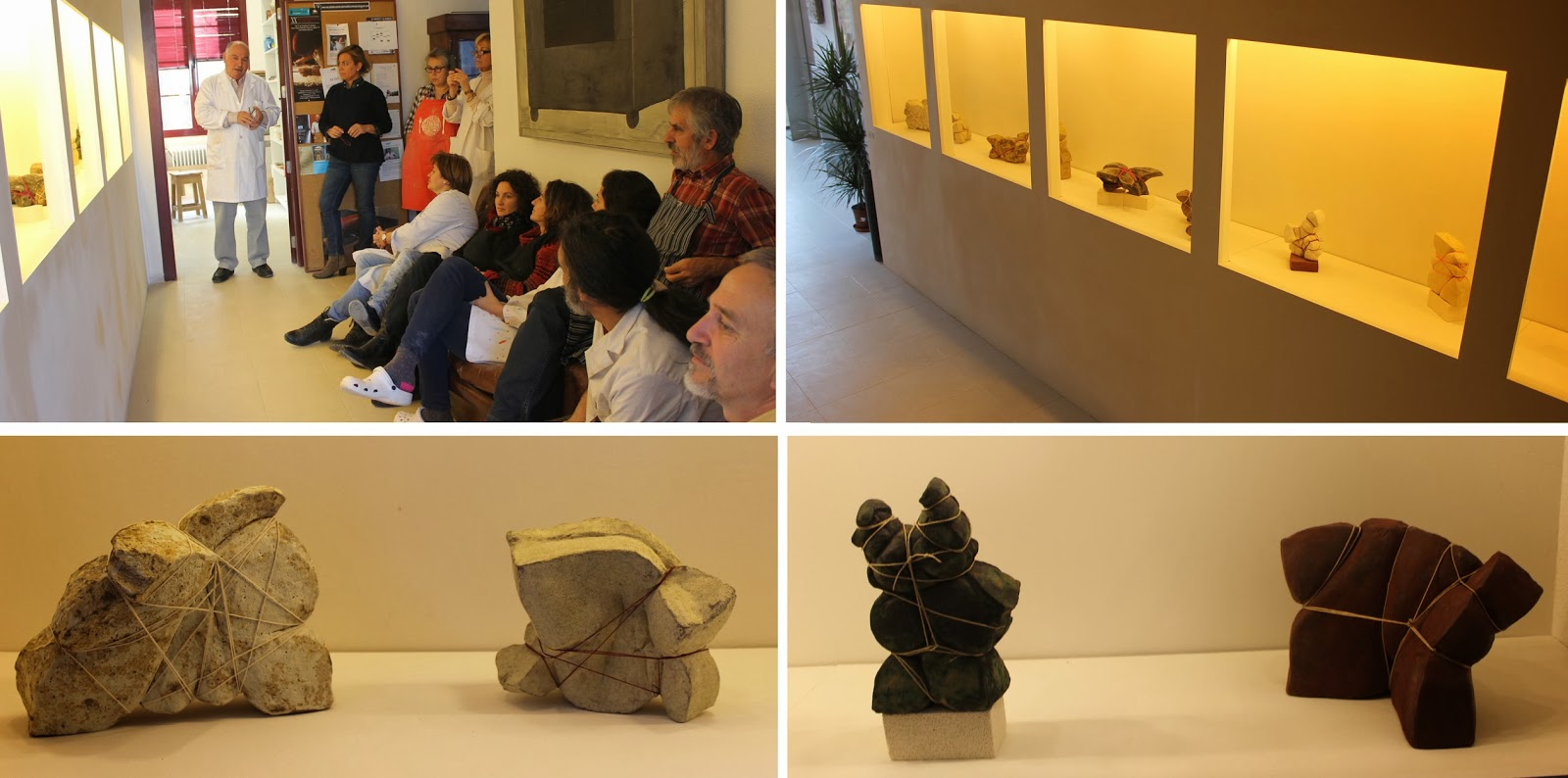 Ecm 2 curso taller de escultura for Curso de ceramica madrid
