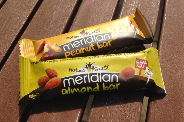 Meridian Peanut Bar and Almond Bar
