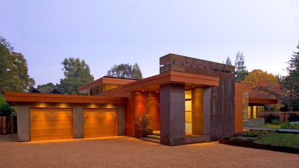 Fachadas de casas fachadas de cocheras de casas - Fachadas de casas modernas planta baja ...